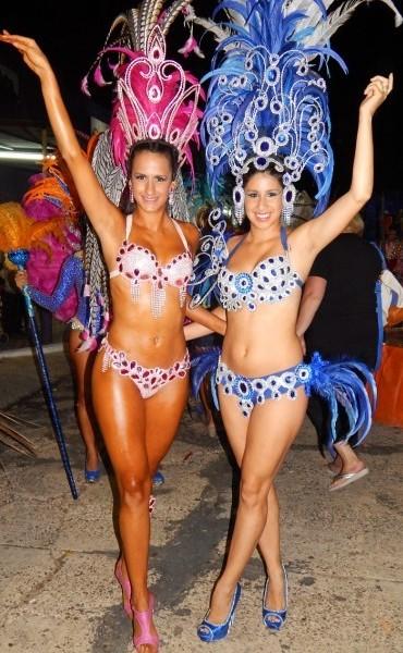 4ta. Noche de Carnavales en Santa Elena a pura fiesta