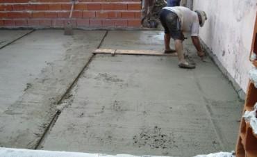 Continúan los trabajos en la Escuela Nº 18 y 7 de Loma Limpia