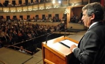 Este sábado, Sergio Urribarri les habla a los entrerrianos