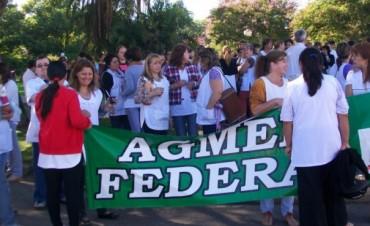 En forma unánime el congreso de AGMER resolvio un Paro de 72 horas