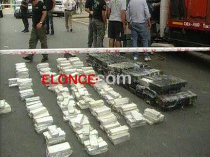 500 Kilos de Droga fueron incautado por la Policía Federal en Paraná
