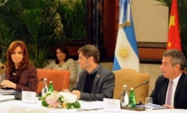 Los Chinos explicaron a la Presidenta las inversiones que realizan en Entre Ríos