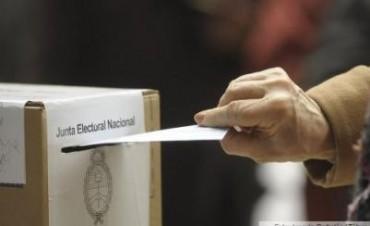 Puede haber definiciones sobre las elecciones en la provincia