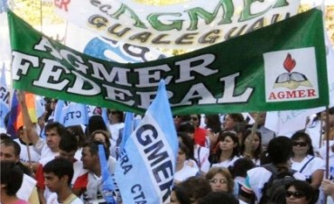 AGMER no aceptará un aumento del 25 %, en Federal Asamblea el miércoles