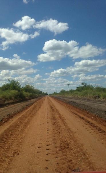 El ripio en los caminos de Colonia Federal: la obra esperada por los colonieros
