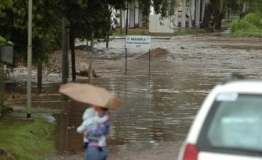 La lluvia no da tregua en Córdoba, hay alerta por más lluvias