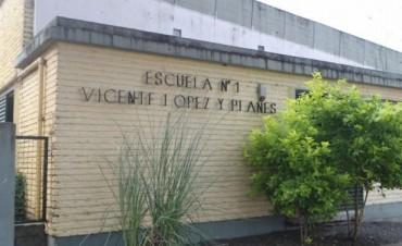 Repararían  el techo de la Escuela N° 1 de Federal
