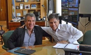 En Buenos Aires, Urribarri y Kicillof hablaron sobre el crecimiento de Entre Ríos