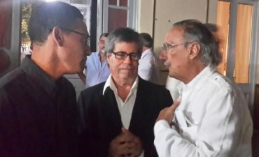 Lucio Godoy en Villaguay en el lanzamiento de un frente políticio