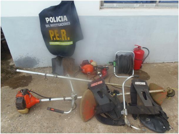 Policía recupera elemento sustraídos del cementerio municipal