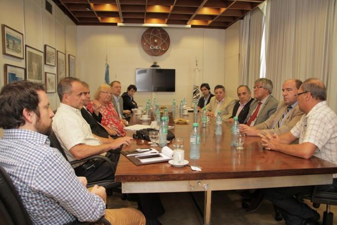 De Angeli y Vitor gestionan ante la Nación la finalización del Centro de Medicina Nuclear de Oro Verde