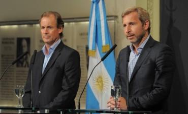 """""""Trabajamos junto a Bordet""""  manifestó el Ministro de Macri, Rogelio Frigerio"""