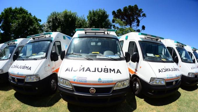 Entre Ríos incorporará cuatro nuevas ambulancias