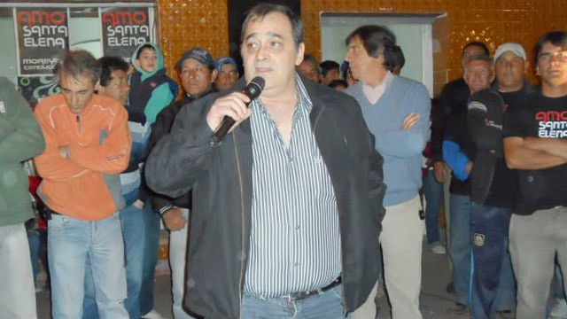 Intendente denunciado: allanaron el municipio de Santa Elena
