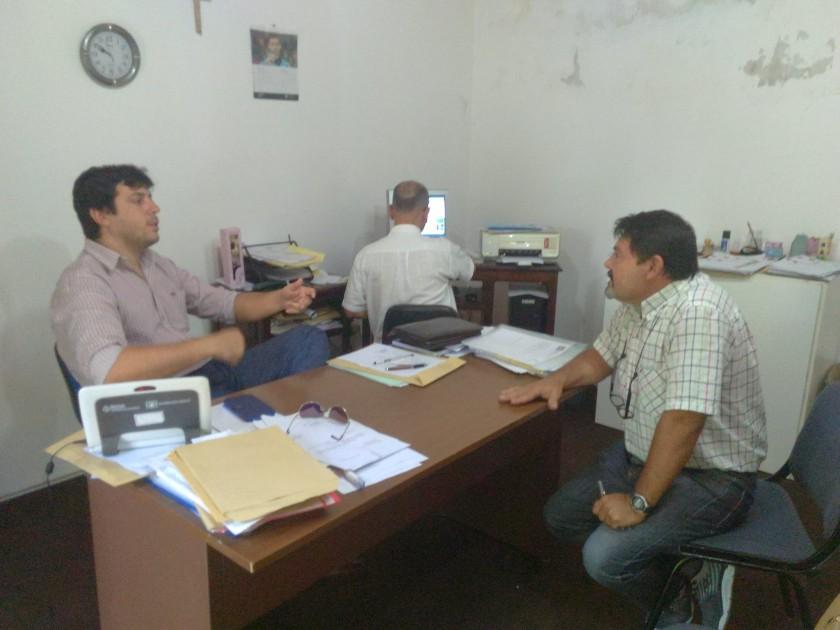 Abordaje territorial en Federal de la Dirección de Educación Física de la Provincia