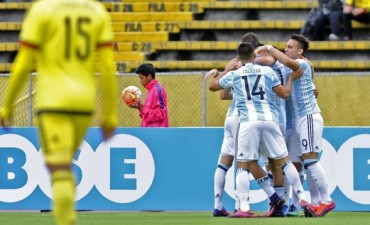 Sudamericano Sub 20: Argentina venció sobre la hora a Colombia
