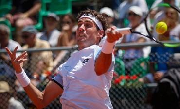 Guido Pella cayó sin atenuantes ante Paolo Lorenzi en el arranque de la Copa Davis