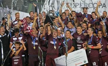 Lanús goleó a River y se proclamó Campeón de la Supercopa Argentina