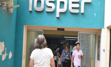 Iosper: afiliados pagarían un coseguro de 90 pesos