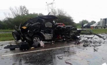 Dos muertos y cuatro heridos en fatal accidente en el sur entrerriano