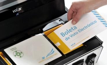 El voto electrónico no será implementado en 2017
