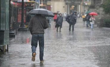 Rige un alerta por tormentas fuertes: Se prevé otro fin de semana con lluvias