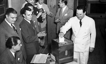 El primer triunfo electoral del peronismo, en 1946