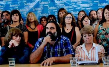 Sindicato nacional docente anunció movilizaciones para después del paro