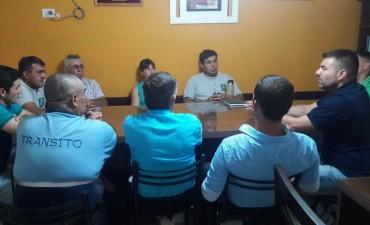 EL INTENDENTE RECIBIÓ AL SINDICATO DE EMPLEADOS MUNICIPALES