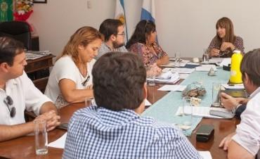 Reunión de directores de hospitales de Federal con la ministra de Salud de Entre Ríos.