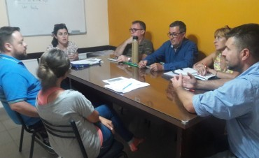 El Jefe Comunal recibió a Técnicos del Ministerio de Desarrollo Social de la Nación