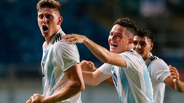 El Sub 20 de Argentina goleó a Venezuela y se acerca a la clasificación mundialista