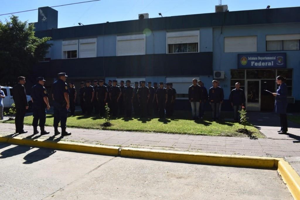 La Jefatura de Policía ya cuenta con los nuevos Jefes de Divisiones