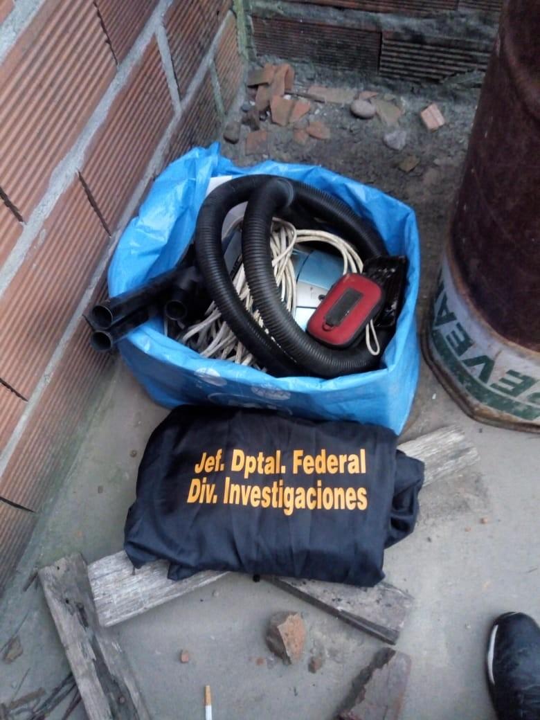 Recuperan elementos que fueran robados de un domicilio en calle Anderson