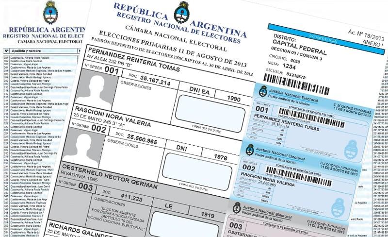 Se presentaron 797 listas ante el Tribunal Electoral: Son 100 más que 2015