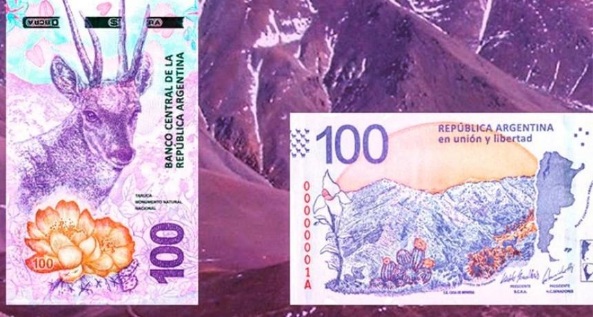 Casi el 60% de los billetes en circulación son de 100 pesos