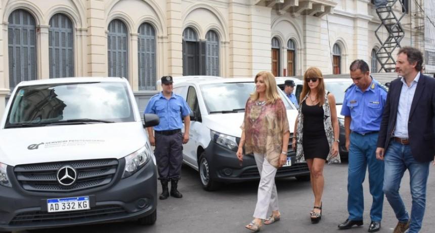 El Servicio Penitenciario cuenta con seis vehículos nuevos. Uno para Federal