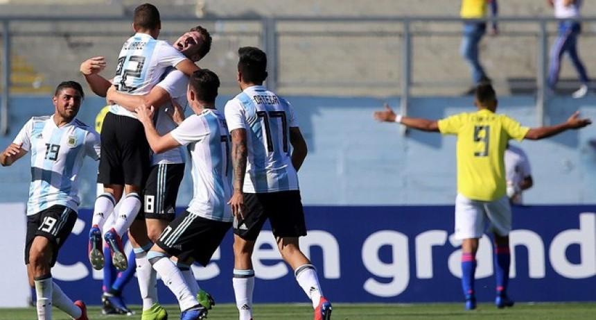 Sudamericano Sub 20: Argentina ganó con un golazo y se acomodó en la Fase Final