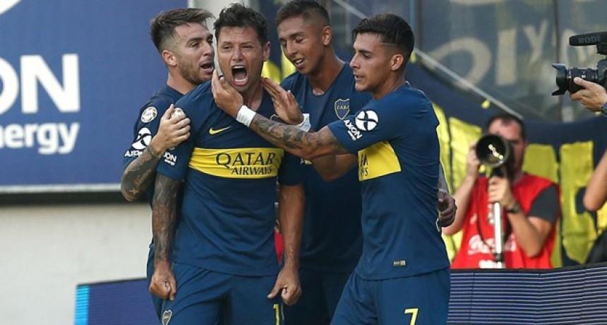 Boca superó como local a Godoy Cruz y se mete en la pelea