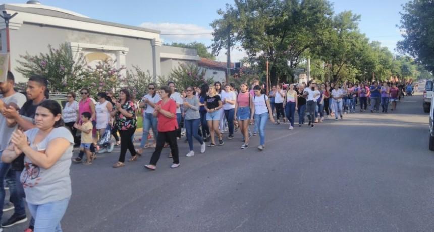 En Federal marcharon pidiendo justicia por el femicidio de Jesica Riquelme
