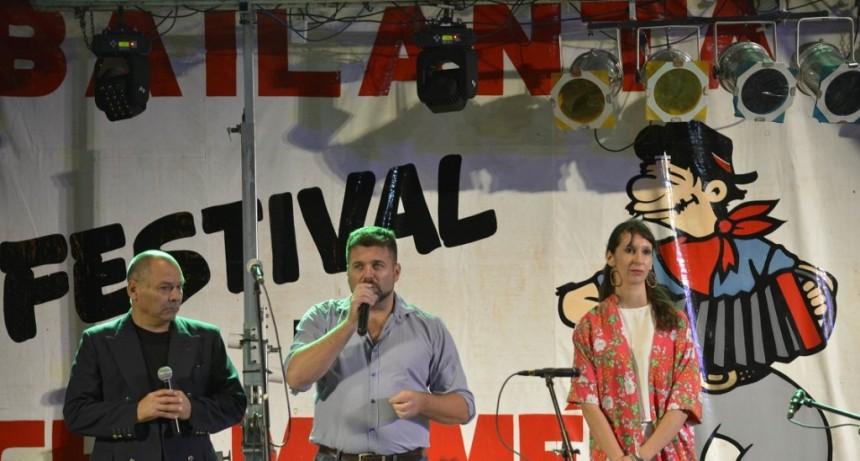 INAUGURACIÓN  DE LAS BAILANTAS OFICIALES DEL FESTIVAL NACIONAL DEL CHAMAMÉ