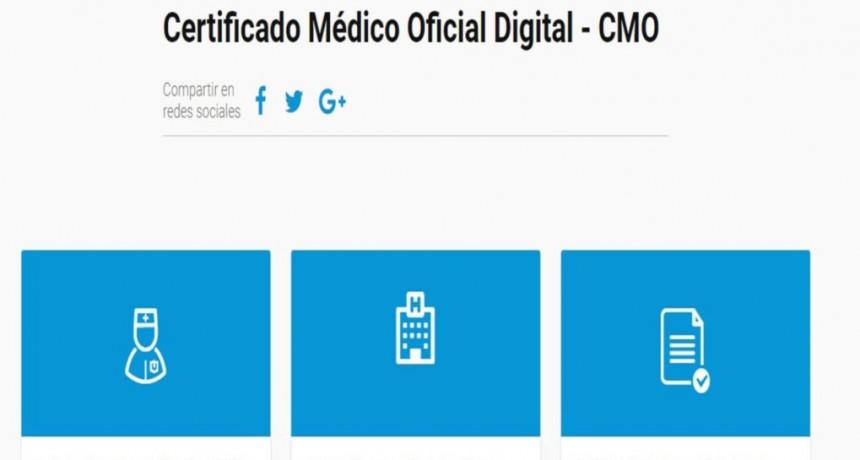 Comienza a implementarse el certificado médico digital