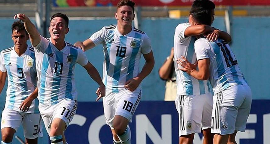 Argentina venció a Uruguay y sacó pasaje para el Mundial Sub 20 de Polonia