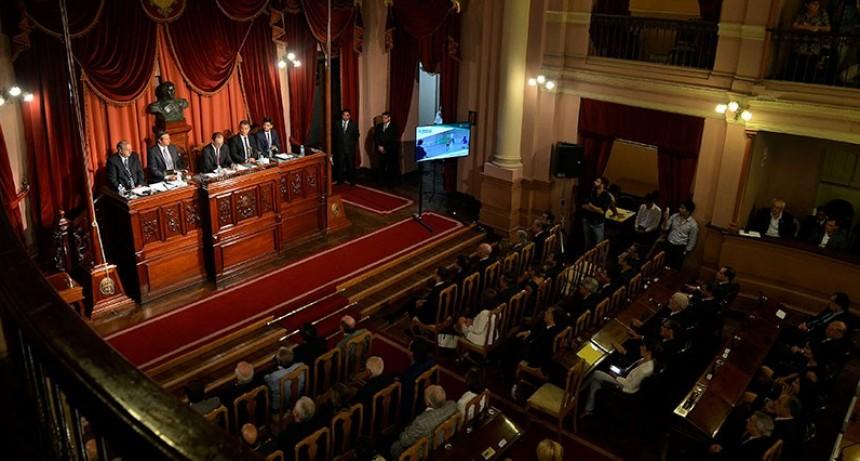 Se confirmó la fecha de renovación de autoridades en la Legislatura