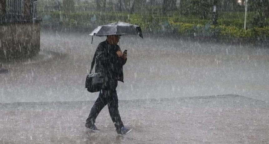 Alerta por tormentas para una zona de Entre Ríos y otras siete provincias