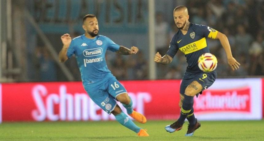 Boca igualó con Belgrano y desperdició la chance de descontarle al líder