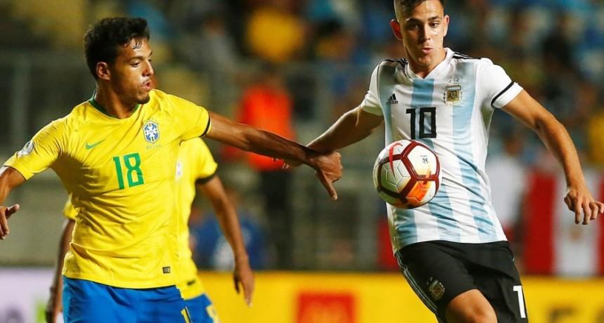 Argentina perdió con Brasil y no pudo ser campeón del torneo Sub 20