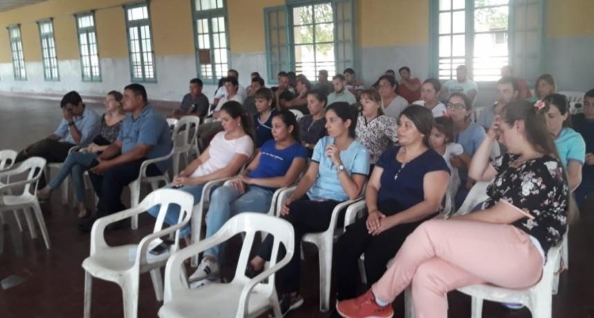 Nuevos pases a planta permanente en el Hospital Colonia de Federal