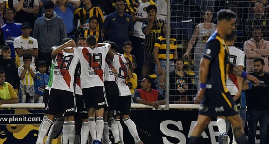 Superliga: En un partido vibrante, Central y River empataron en Rosario