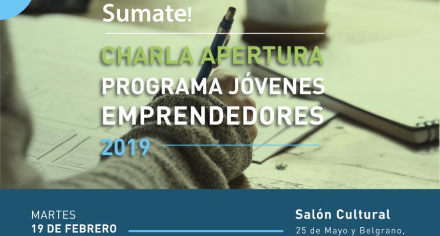 Charla  apertura del Programa Jóvenes Emprendedores  2019